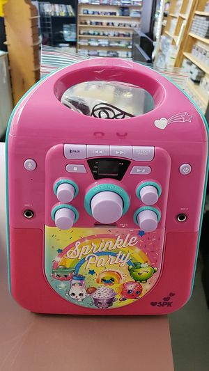Shopkins karaoke for Sale in TEMPLE TERR, FL