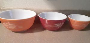 Vintage Pyrex Bowl Set for Sale in Murray, UT
