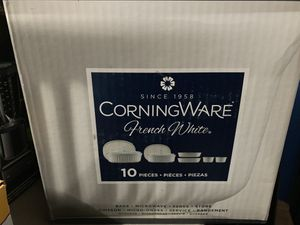 CORNINGWARE French White. de 10 pc for Sale in Los Angeles, CA