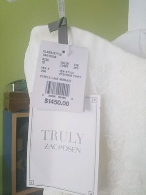 Truly Zac Posen wedding dress for Sale in Falls Church, VA