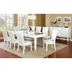 9 pc white dining table for Sale in Las Vegas, NV