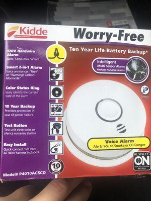 kidde smoke and carbon monoxide detector for Sale in Santee, CA