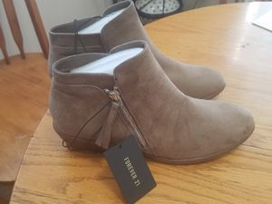 Taupe ankle boots for Sale in Gibsonton, FL