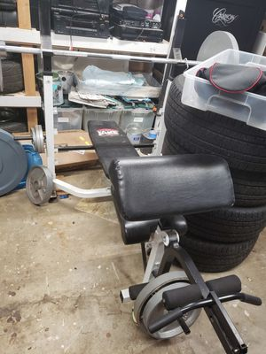 Weight bench set up for Sale in Lynnwood, WA