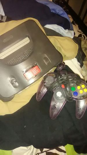 Nintendo 64 flawless controller NO accessories for Sale in Snohomish, WA
