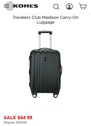 20 inch TRAVELERS CLUB CARRY ON for Sale in Montebello, CA