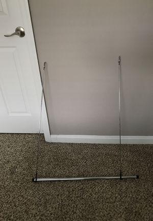 Whitmor Double Closet Rod - Heavy Duty Closet Organizer- Chrome for Sale in Rockville, MD