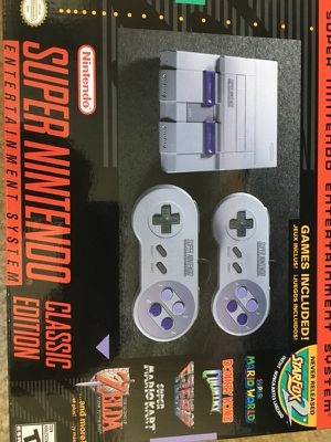 Super Nintendo Classic (Brand New) for Sale in San Diego, CA