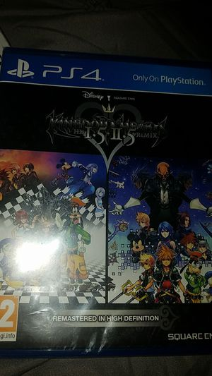 New Sealed PS4 Kingdom Hearts HD I.5 + II.5 Remix Game for Sale in Austin, TX