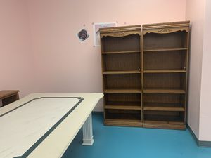 Bookcases/shelves set for Sale in Cherry Hill, NJ
