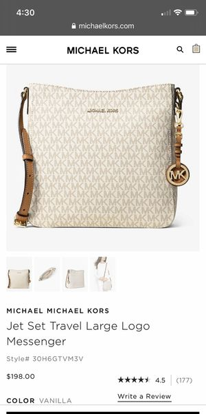 Michael Kors Jet Set Travel Messenger Bag for Sale in San Jose, CA