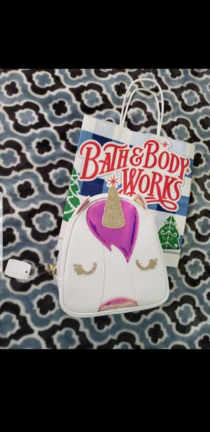BATH & BODY WORKS Unicorn Makeup Bag (New) for Sale in Baldwin Park, CA