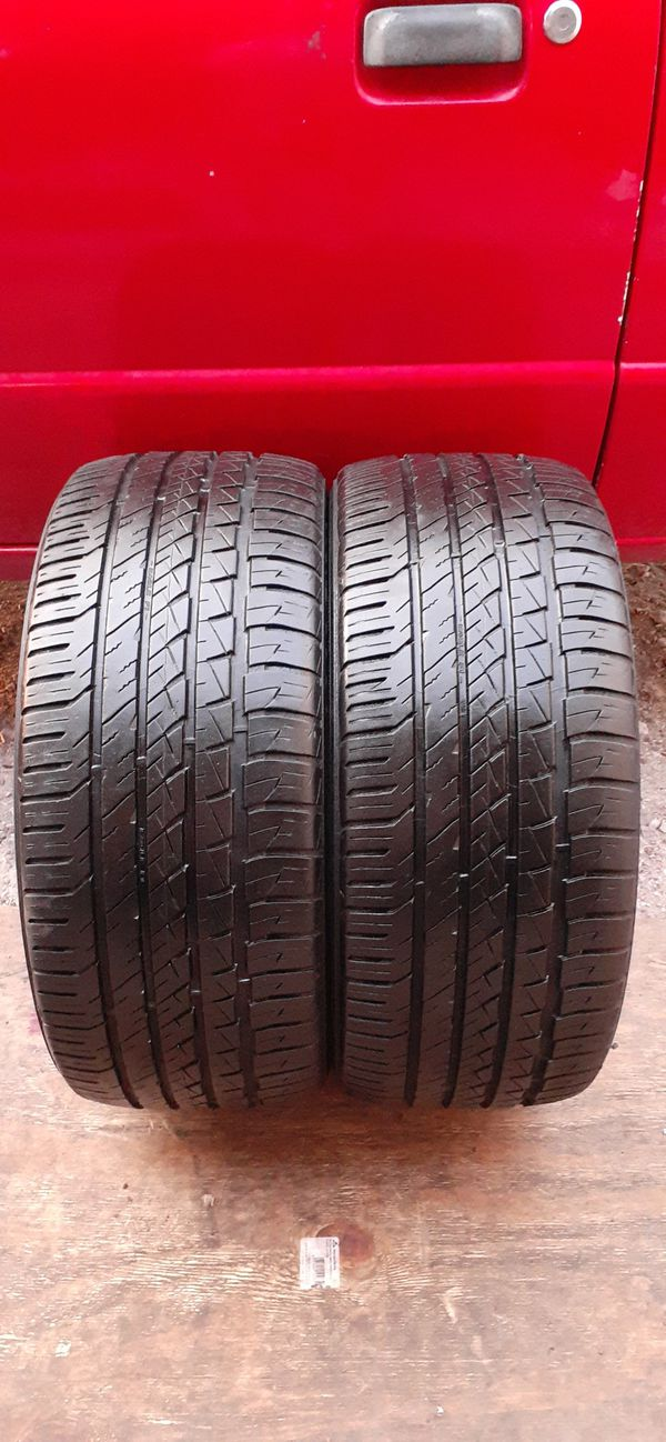 2 tires 245 40 18 Goodyear excellent condition