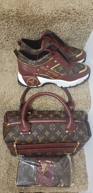 Louis Vuitton bag and shoes in stock brand new for Sale in Landover, MD