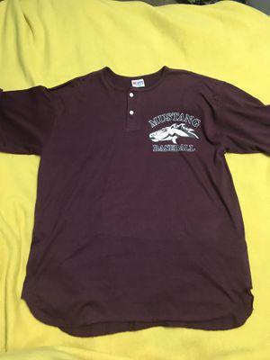Mustang Baseball XL #3 Baseball Shirt for Sale in Sioux Falls, SD