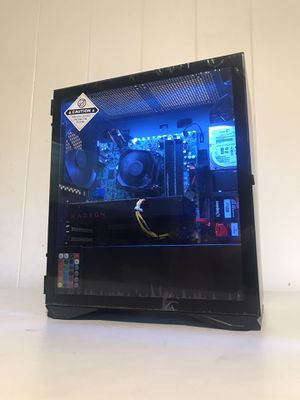 UL Minimalist Gaming PC - Intel Core i5-2500S, RX 480 4GB, 8GB RAM, 60GB SSD + 500GB HDD for Sale in Honolulu, HI