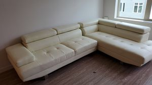 White couch 2 piece for Sale in San Jose, CA