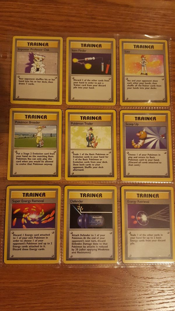 👣 Pokemon cards - NEAR complete BASE set 👣