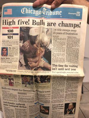 Chicago Bulls 1991 Chicago tribute classic for Sale in Des Plaines, IL