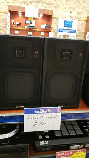 Sony Home Stereo Speakers for Sale in Chicago, IL