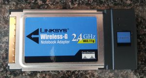CISCO LINKSYS WPC54G Wireless-G 802.11g Notebook Adapter for Sale in Miami Beach, FL