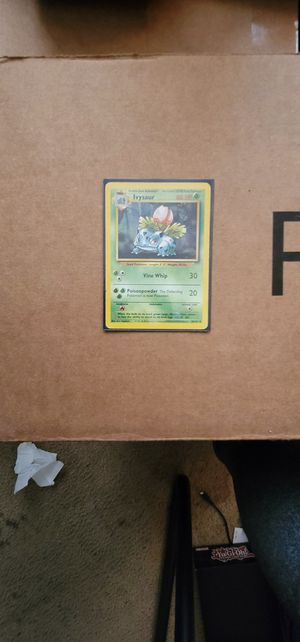 Ivysaur 20/102 Wizards of the Coast 1999 Mint Pokemon Card for Sale in Manteca, CA