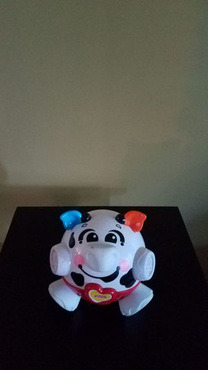 Mattel Brilliant Basics Bounce & Giggle Cow for Sale in Frederick, MD