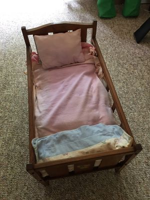 Antique doll crib for Sale in Hillsborough, NC