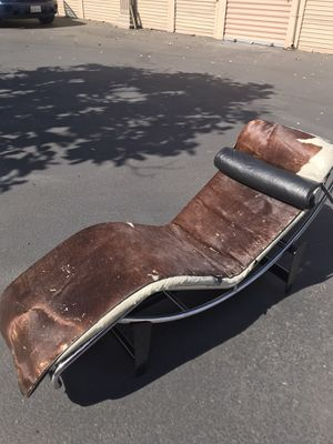 Vintage corbusier longer chair for Sale in National City, CA
