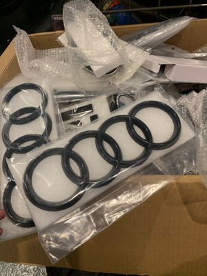 AUDI 4 ring emblem logo badge for Sale in Indianapolis, IN