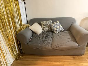 FREE Loveseat Couch with Slipcover for Sale in New York, NY