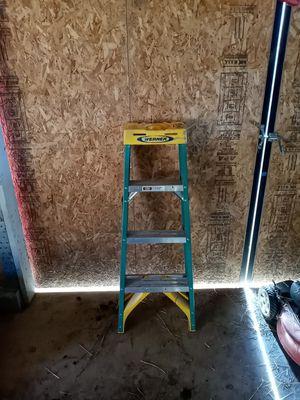 Werner 3 step ladder blue type 1a for Sale in Auburn, WA
