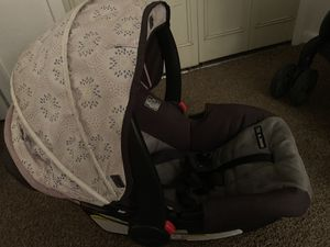 Baby Girl stroller, Car Seat with base for Sale in Gainesville, FL