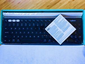 Brand new Logitech Multi-Device Wireless Keyboard for Sale in Pacifica, CA