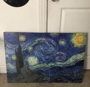 Starry night canvas for Sale in Austin, TX