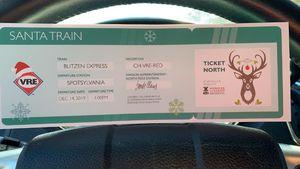 VRE Santa Train Tickets for Sale in Stafford, VA
