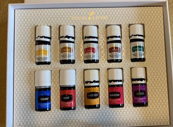 Young Living Essential Oils (pack of 10, opened) for Sale in Cleveland,  OH