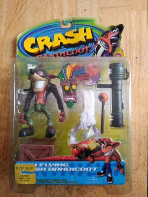 Crash bandicoot vintage 1999 action figure for Sale in Commerce, CA