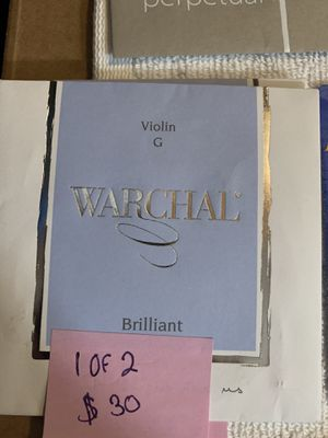 Warchal violin strings for Sale in Buena Park, CA