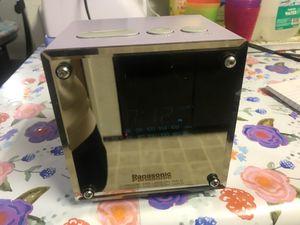 Vintage Panasonic fluorescent digital alarm clock/Am/FM radio for Sale in Turlock, CA