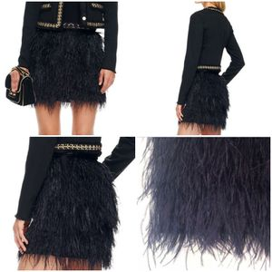 Michael Kors ostrich feather mini skirt for Sale in Tinicum Township, PA