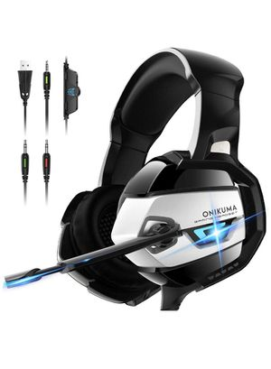 Gaming Headset - Xbox One Headset PS4 Headset PC Headset with Noise Canceling Mic &7.1 Surround Bass, Gaming Headphones for PS4,Xbox 360, Xbox One, P for Sale in Alhambra, CA