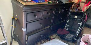 Dark brown Dresser for Sale in Tulsa, OK
