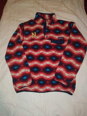 Patagonia womens M-Snap T Fleece Pullover Aztec Print for Sale in Baltimore, MD