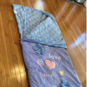 Pretty My Twinn Girls Sleeping Bag In Great Condition for Sale in Renton, WA