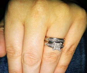 1kt diamond wedding set w/ earrings for Sale in Portland, OR