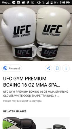 UFC gym boxing gloves for Sale in Adelanto,  CA