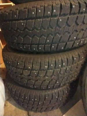 245 70 16 Winter tires with rims for Sale in New Britain, CT