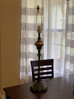 Antique marble table desk lamp for Sale in Tampa, FL