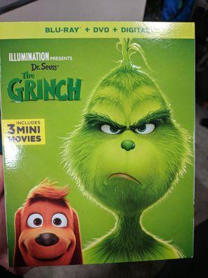 Grinch Blu-Ray DVD & Digital HD for Sale in Pomona, CA